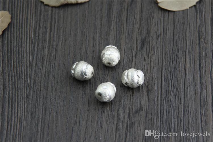 Entwerferschmucksacheart und weise 925 Sterlingsilbercharme bördelt handgemachte Diy Handschnurhandkettenschnur bördelt ovale Korne direktes Großhandelsporzellan