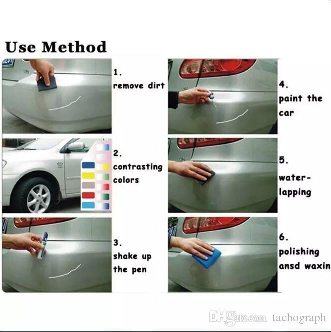 Repair Filler & Sealer Pen Auto Car repair pen Coat Touch Up Scratch Cover Remove Repair Fix Clear Painting Pen