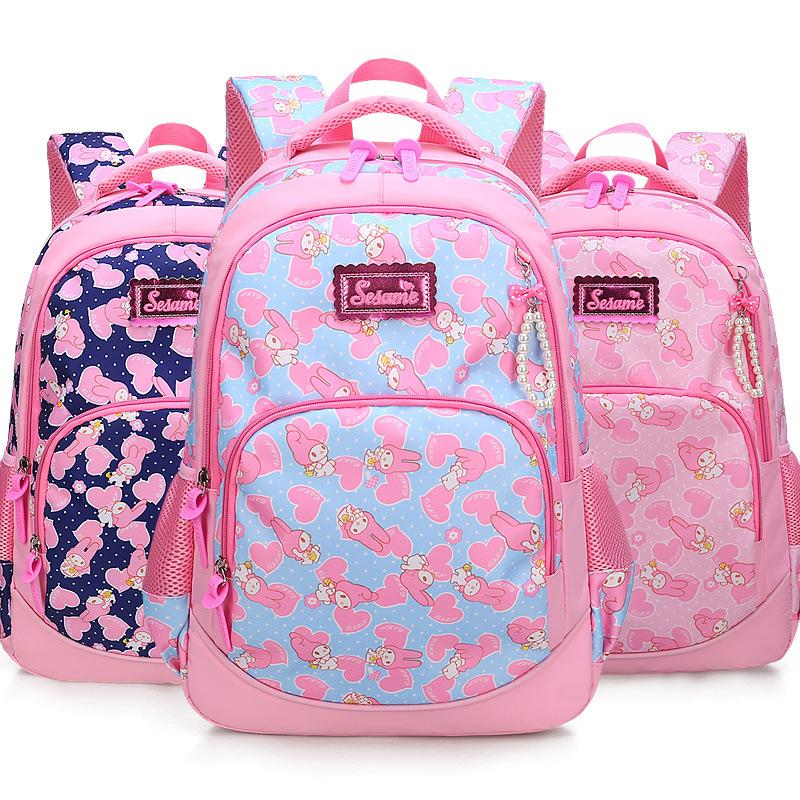 b9a78d4c15 6 12 Years Old School Bags For Girls Waterproof Nylon Backpacks Child  Bookbag Kids Shoulder Bag Knapsack Backpack High Quality Tactical Backpack  Ogio ...