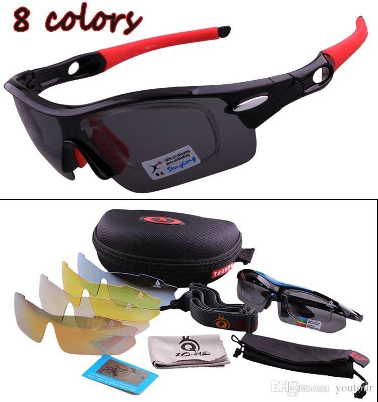 8474e76960 2019 Polarizing Glass Mens Sport Sunglasses Men Path Sunglasses Women Brand  Design Sunglass Wind Proof Outdoor Sport Riding Eyewear 5 Lens UV400 From  ...