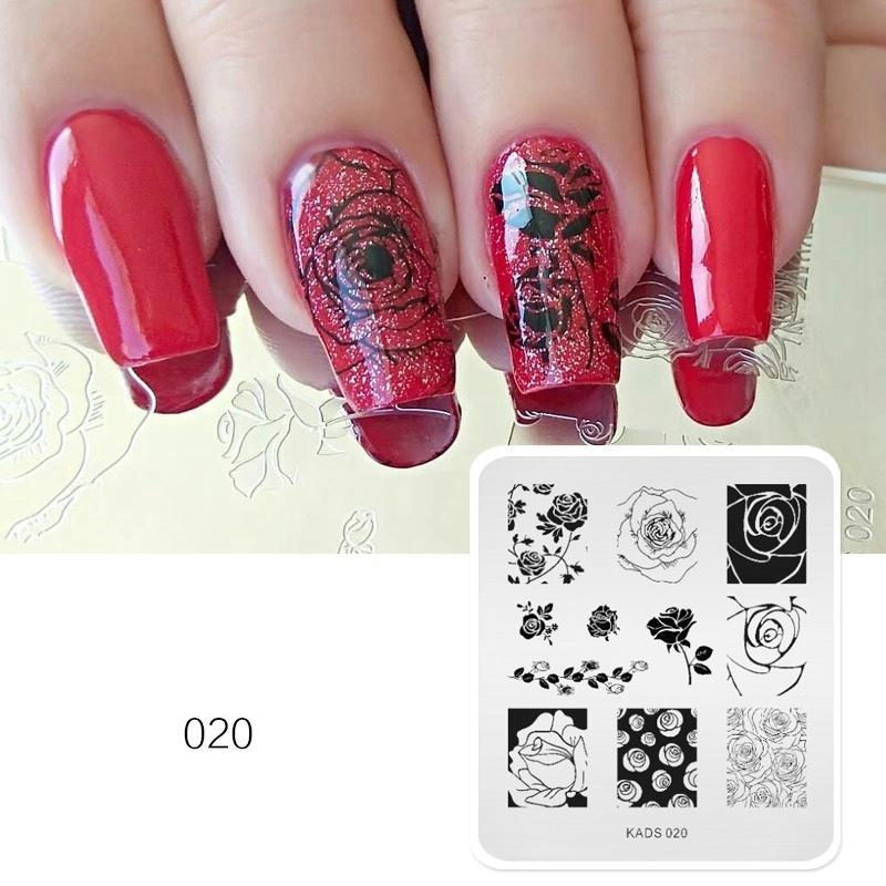 New Style Nail Stamp Templates Stamping Nail Art Manicure Template