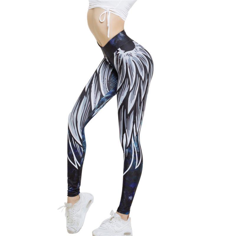 55703729e 2018 New 3D Print Sportswear Fitness Pants Jogger Legging Sexy Yoga ...