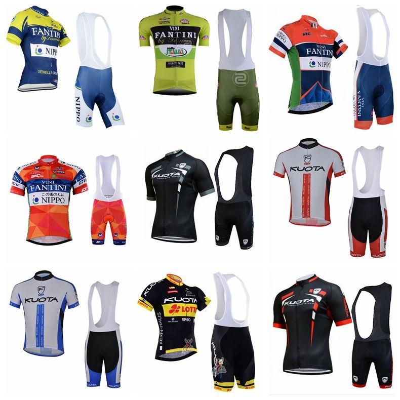 f1cf00efd KUOTA FANTINI Team Cycling Short Sleeves Jersey Bib Shorts Sets Summer Men s  Quick Dry High Quality Mountain Bike Bib Shorts Set 841229 FANTINI Cycling  ...