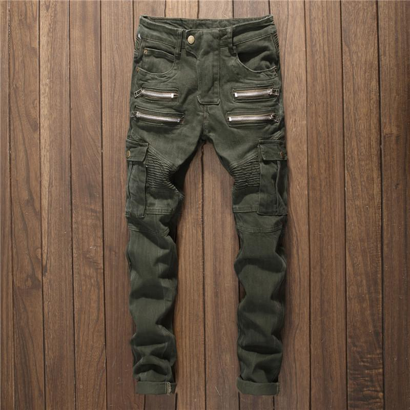 Details zu Herren Streifen Hose Jeans Rot Schwarz Gestreift Punk Rock Inch 34