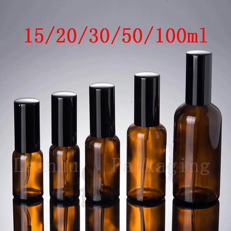 50 ML 100 ML Marrón Para Perfume, Botella de Spray de Agua Contenedor de Tóner Botella de Perfume Recargable Spray de Ajuste de Maquillaje spray