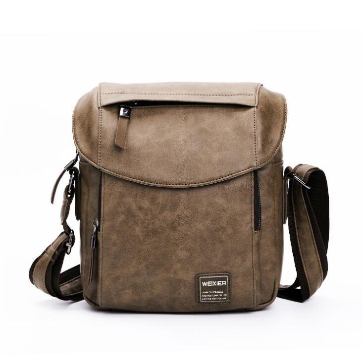 2018 New Hot Sale Men S Shoulder Bag Retro Business High Quality PU Men S  Bag Cross Body Shoulder Bags Leather Satchel Ladies Bags From Xudanwen 24d232db4cc3a