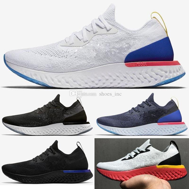 b9d1821e698a3 Hot Sale Epic React Fly Weaving Sports Running Shoes for Top Quality ...