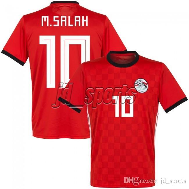 2018 Copa Del Mundo Egipto Equipo Nacional Adultos Jerseys Salah Futbol Camisa  Camisetas De Fútbol Fútbol Camisetas Camiseta Kit Maillot Por Jd sports 958c70462