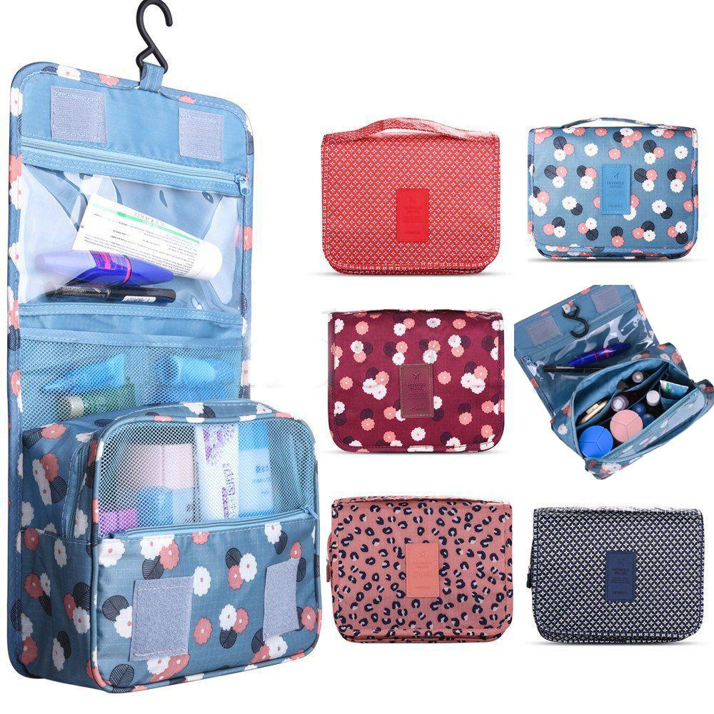76dadec9c47 Hanging Toiletry Bag-Travel Organizer Cosmetic Make Up Bag Case for ...