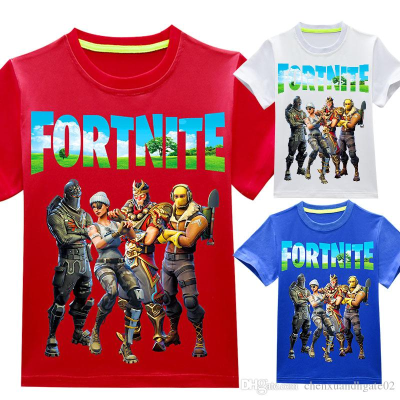 8126dd69 Summer T Shirts Boy Girls Short Sleeve Fortnite Children Clothes T Shirt  Kids Comfortable T-shirt Funny Clothes Fortnite T Shirt Fortnite Clothes  Fortnite ...
