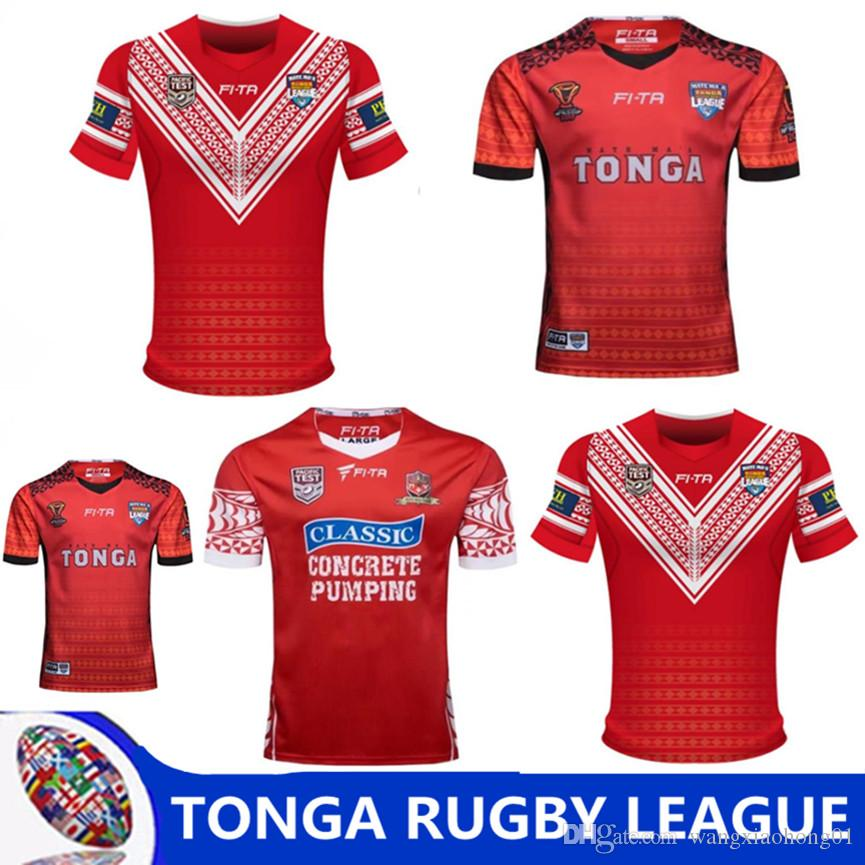 71e5388ebed TONGA RUGBY LEAGUE WORLD CUP 2017 HOME JERSEY 17 18 New Zealand TONGA Rugby  Jerseys TONGA RUGBY LEAGUE 2018 PACIFIC TEST JERSEY Size S-3XL New Zealand  ...