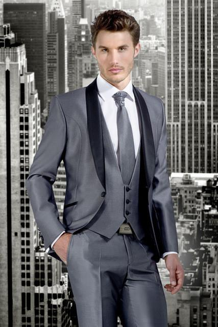 333d65baee68d Acquista 2018 Nuovo Stile Di Moda Maschile Sposo Migliore Uomo Abito Da  Sposa Uomo Vestito Di Alta Qualità Cappotto + Pantaloni + Gilet A  143.32  Dal ...