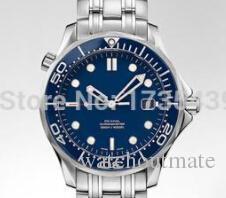 Nuevos relojes para hombres marca de lujo Relojes para hombre relojes automáticos 007 hombres caídos del auto-viento reloj envío gratis