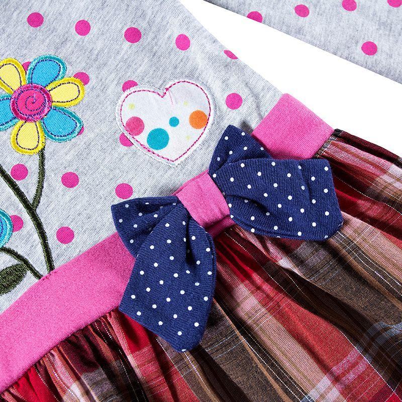 2018 Spring Baby girls dresses children clothes long sleeve kids wear fashion girls frocks hot selling frocks