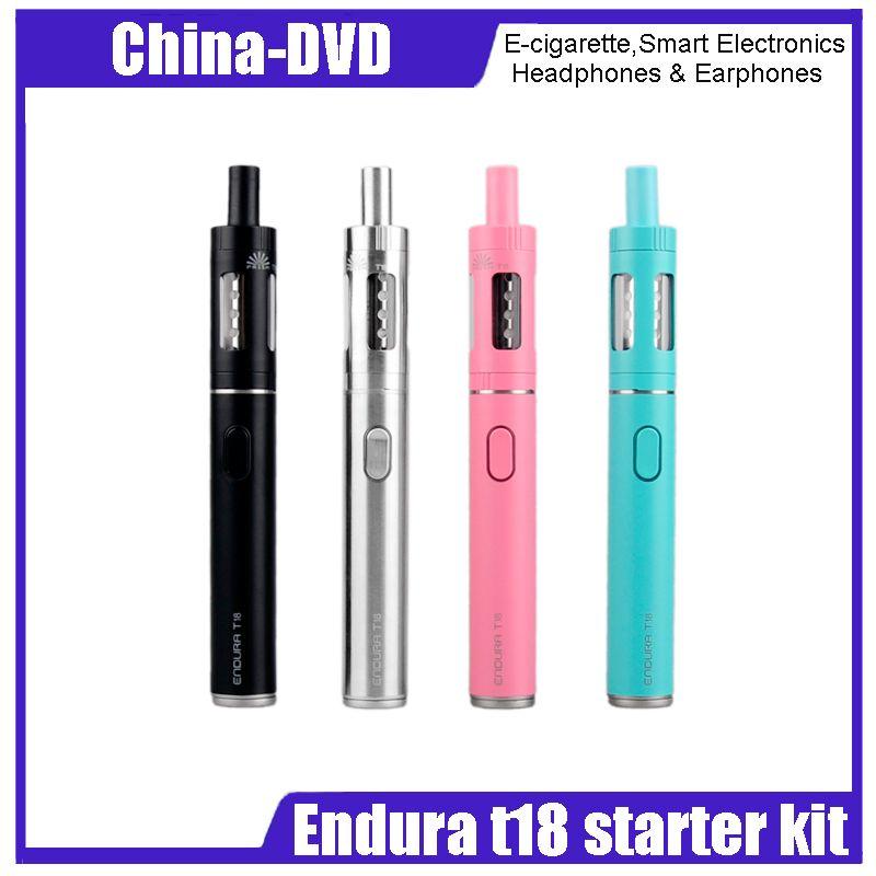 endura t18  Authentic Innokin Endura T18 Vaporizer Electronic Cigarettes Kit Top ...