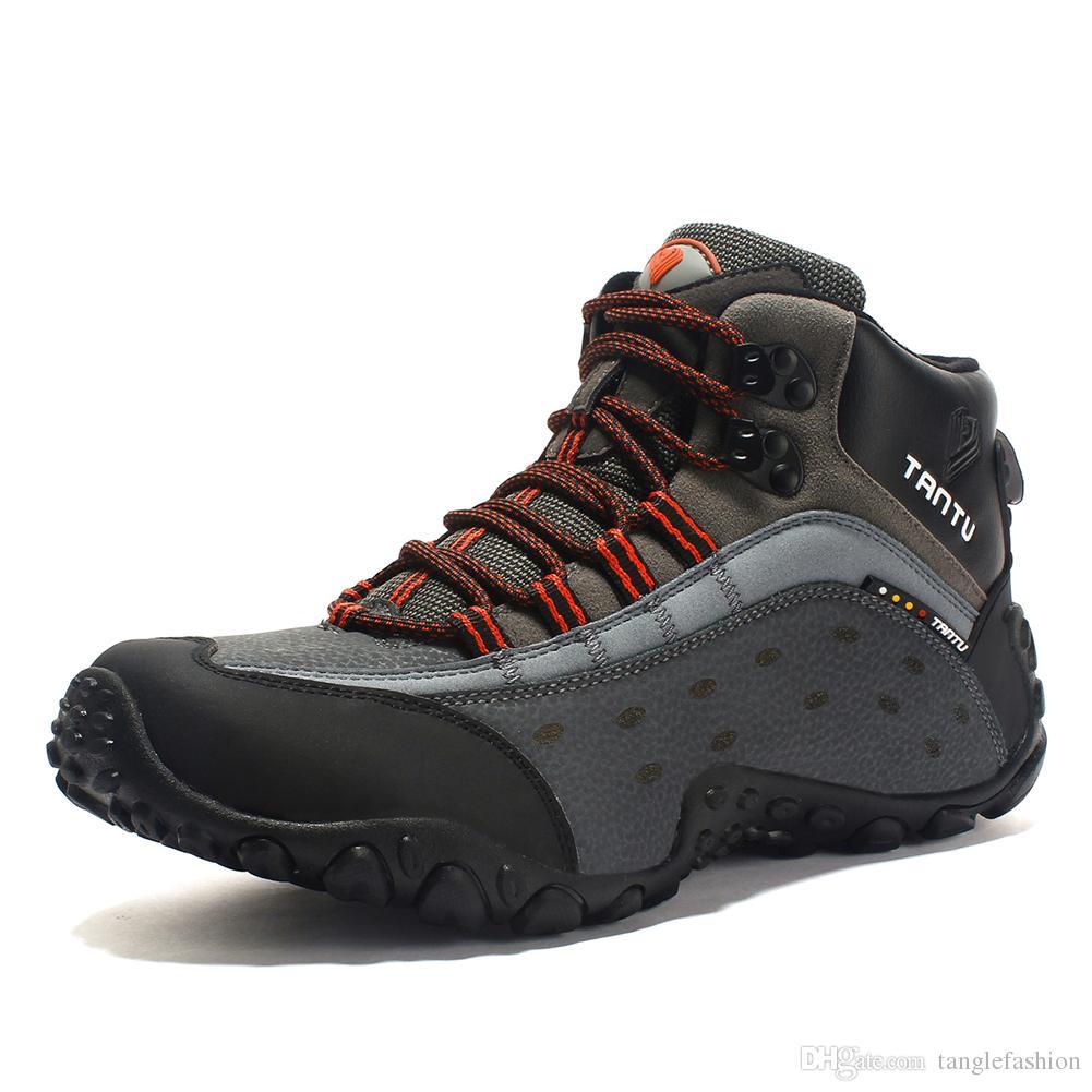 8dcb972d Compre Baideng Botas De Senderismo Impermeables Para Hombres Altos Al Aire  Libre Activies Moda Zapatos Deportivos Camuflaje Trekking Viajar Al Aire  Libre ...