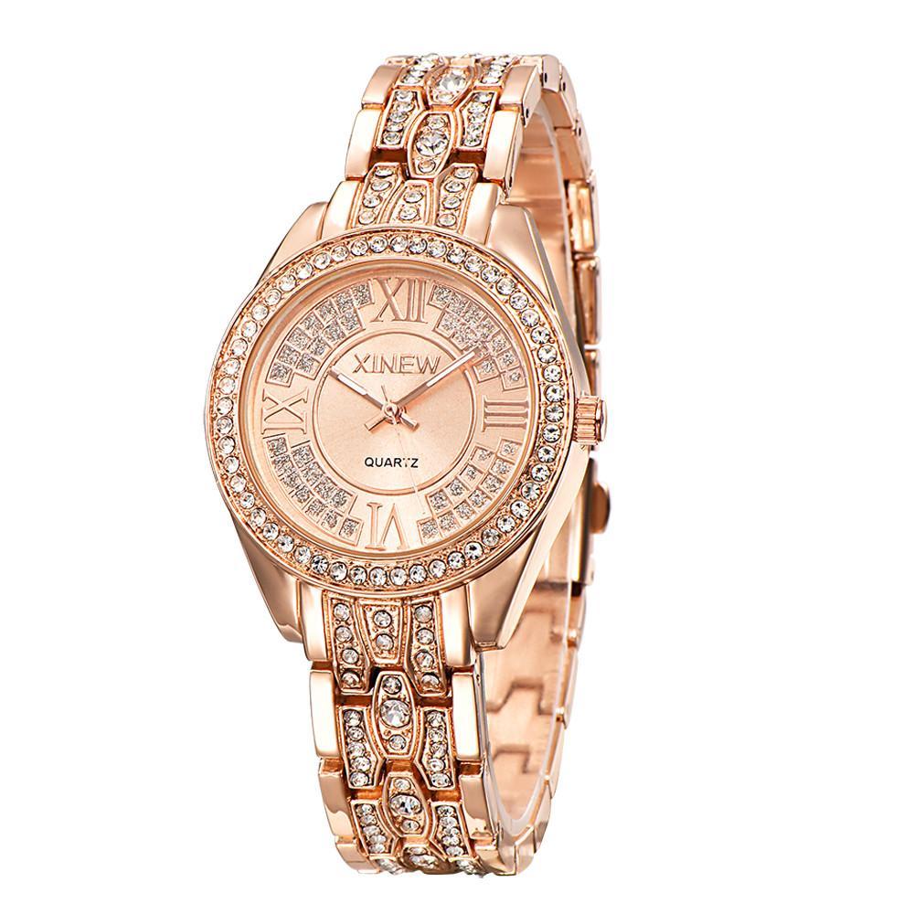 Compre 2018 Nueva Marca JW Relojes De Pulsera De Lujo De Las Mujeres  Vestido De Cristal Relojes De Pulsera Moda De Mujer Reloj De Cuarzo  Ocasional Reloj ... 16685f139b6f