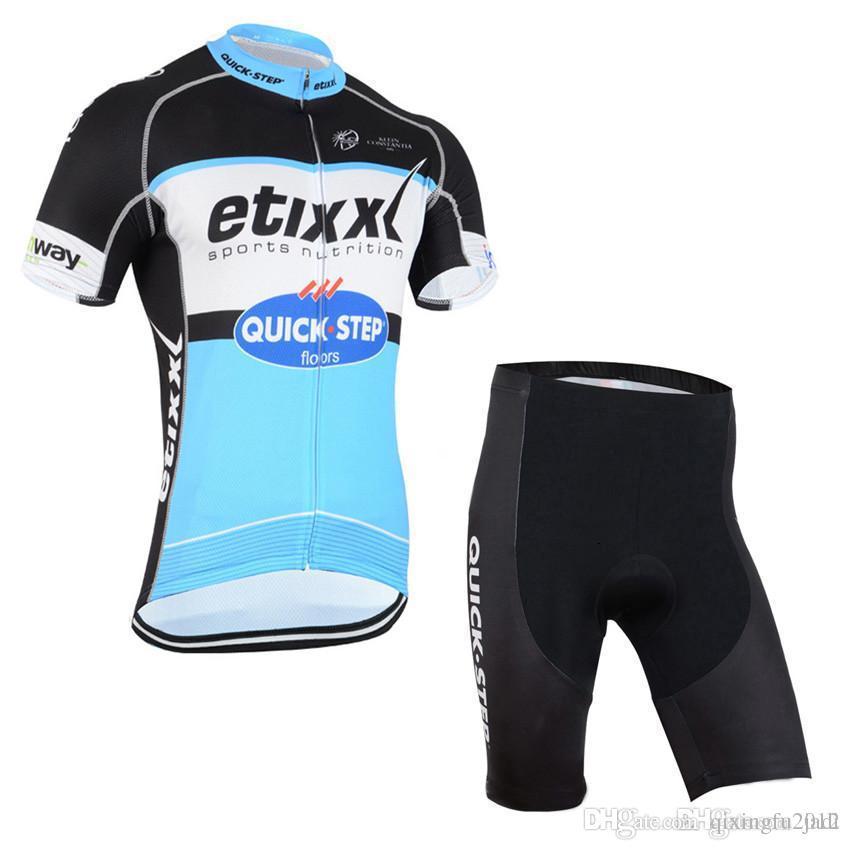 Etixx New Cycling Jerseys Short Bicycle Clothing Set Men Wear Suit ... 897266931