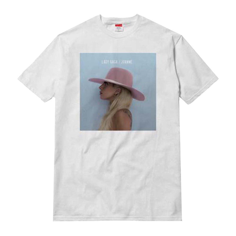 Lady Blanco Joanne Adultos Gaga Compre Para Album Cover Camiseta BTnxwWx8