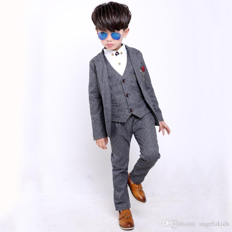 0627e4b860531 2019 Teen Boys Clothing Boys Suits For Weddings Boy Suits Formal Suit For Boy  Costume Enfant Garcon Mariage Terno Infantil Disfraz Infantil 2018 From ...