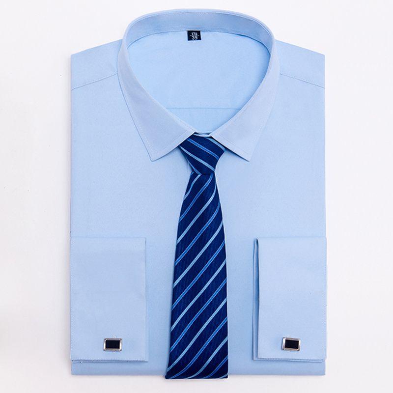 Acheter Chemise De Ville Classique A Manches Longues Avec Cravate