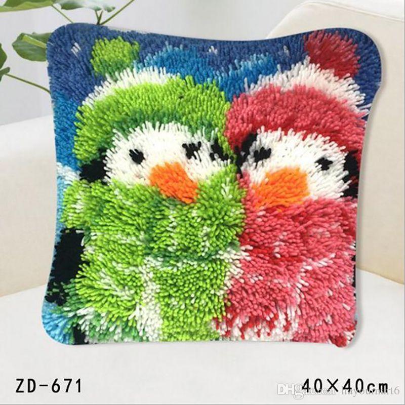 Clown Decorative Pillow Case Cover Acrylic Fiber Bright Colorful Cool Bright Colored Decorative Pillows