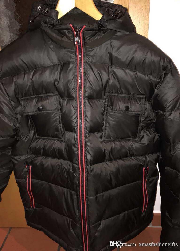 best sneakers ed1af 83cec Kaufen Winter Daunenjacke Marke Design Männer Warm Cold Hoody Jacken für  Mann Mode Anorak Plus Size Mäntel Billig Verkauf