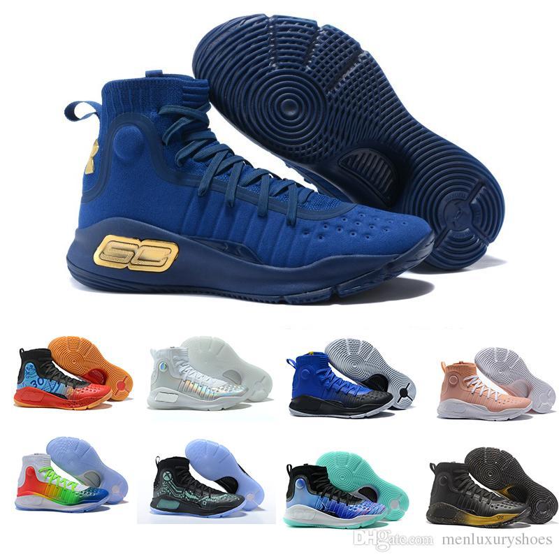 2018 Gran venta Stephen Curry 4 Basketball Zapatos MVP MVP MVP All Star Oro f95d36