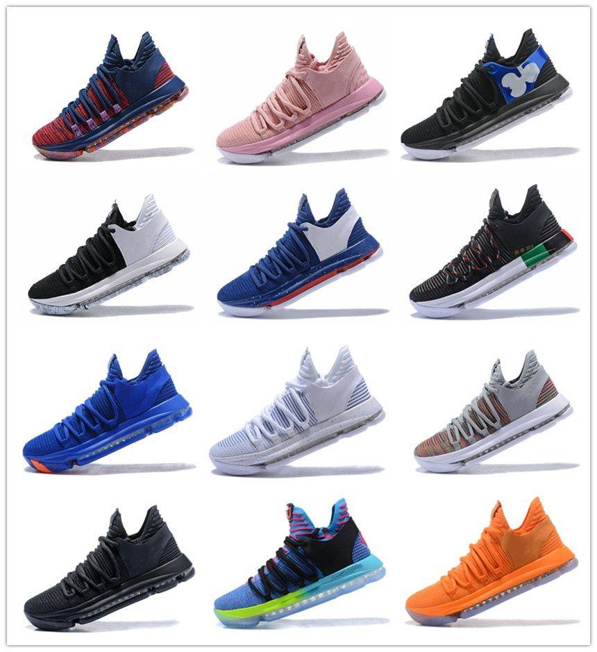 Zoom Kevin Durant KD 10 Elite KDX Opening Night Peach Jam PK80 Red Velvet Triple Black Wolf Gray Men Basketball Shoes Sports Sneakers footlocker finishline online lW7tUpGEY