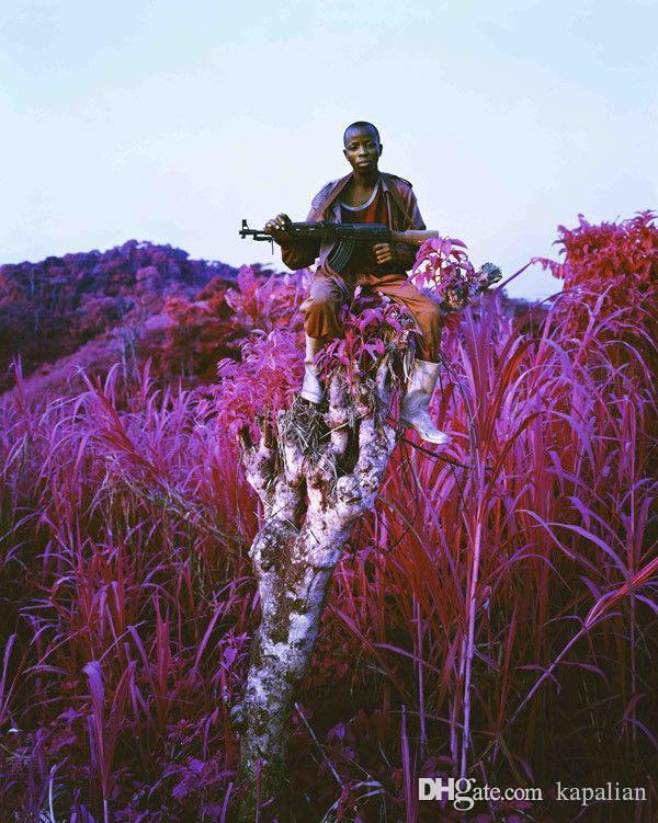 Free Shipping Richard Mosse Infra Higher Ground Art Print Poster 24x36 Art Posters Prints Home Decor Wall Paper 16 24 36 47 inches