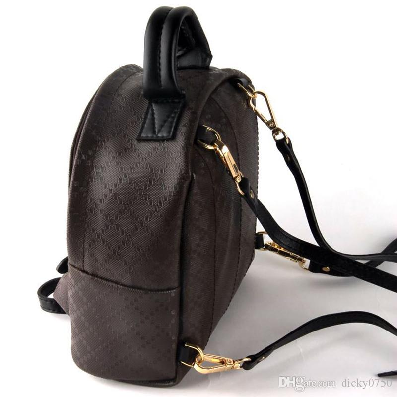 Mini backpack lady Genuine Leather Backpacks fashion back pack fow women handbags Presbyopic Mini shoulder bag Mobile Phone Purse wholesale