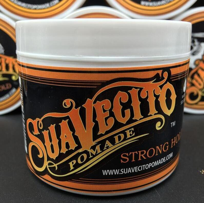 Suavecito Pomade Strong style Restoring Ancient Ways Hair Slicked Back Oil Wax Mud Best skull hair oil Wax Very Strong Hold High quality