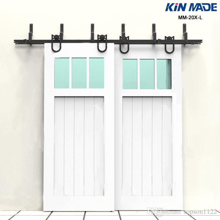 Mm 20x L Horseshoe стиль обходная двойная панель для раздвижных дверей