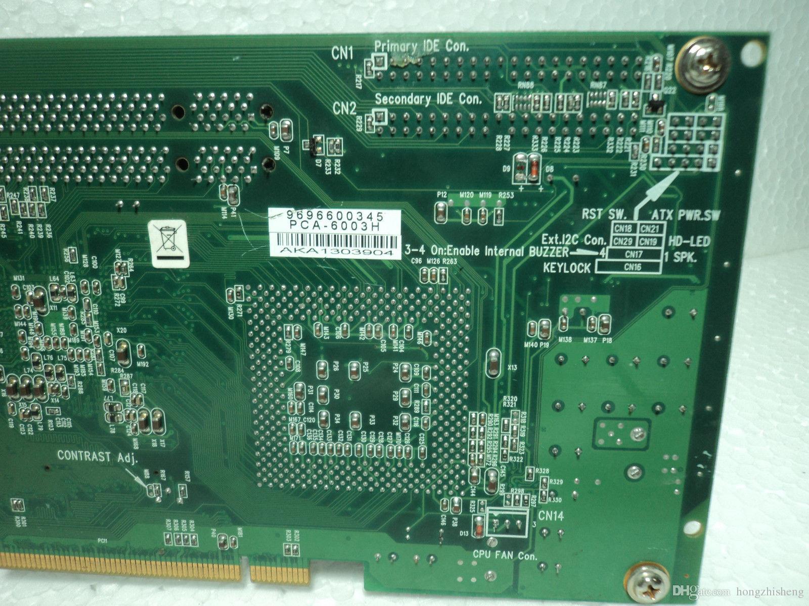 LCD arayüzü ile PCA-6003H Kurulu CPU bellek fanı 90 Gün Garanti 100% mükemmel kalite test
