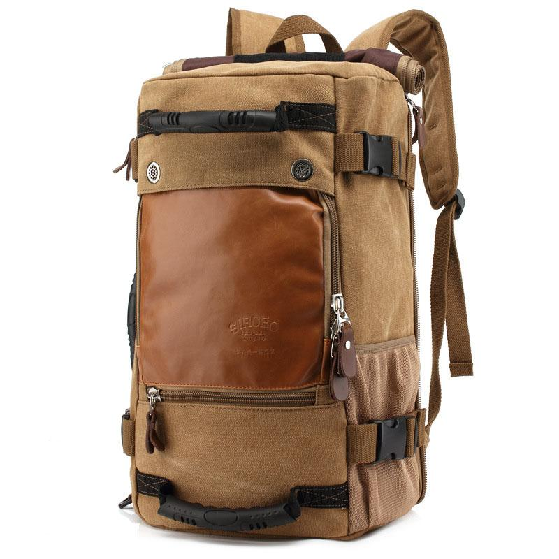 New Stylish Travel Large Capacity Backpack Male Luggage Shoulder Bag  Computer Backpacking Men Functional Versatile Bags Herschel Backpacks Best  Backpacks ... da0d456bcb761