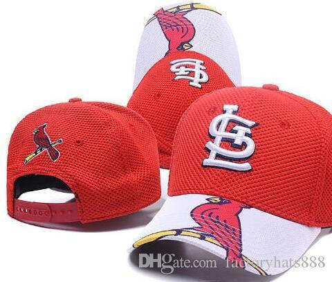 532250d2116 2019 Sports Baseball Cap Cardinals Curved Brim Flat LS Hat Slouch ...