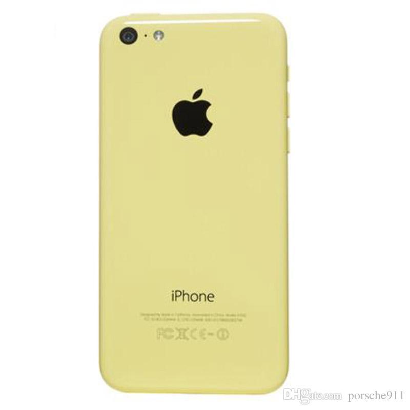 Acheter Un Mobile Reconditionne Reconditionne Debloque Iphone 5c Blanc Bleu Rose Jaune Vert 8g 16gb 32gb Dual Core I5c A5c Ios 32gb 3g Wifi Gps