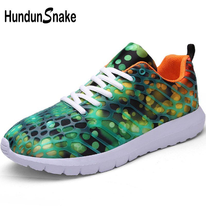 huge discount 75d0a 71174 Acheter Hundunsnake Léger Chaussures De Course Pour Femmes Vert Sneakers  Femme Chaussures De Sport Femmes Chaussure Femme Sport Hommes T39 De  31.88  Du ...