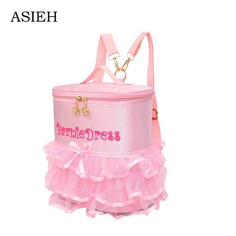 Little Girl Lace Backpack Embroidery School Bag Child Pink Backpack Ladies  Backpack Brand Lovely School Bag Mochila Mochilas Toddler Backpacks Cheap  ... e132e6f04cfa7