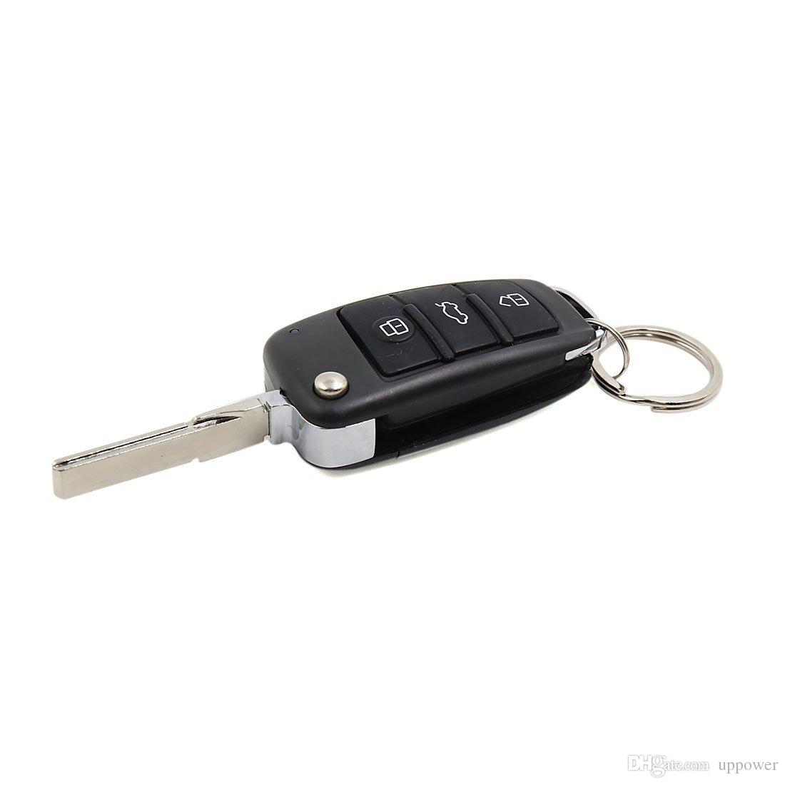 CarBest Car Alarm System Auto Remote Central Kit Door Lock Vehicle Keyless Entry System, Open the tail box remotely and automatically raise