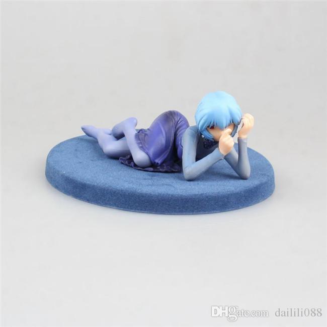 Grosshandel Lilytoyfirm Anime Neon Genesis Evangelion Actionfigur Eva Partykleid Ver Rei Ayanami Pvc Sammlung Modell Puppe Spielzeug Geschenk Von Dailili088