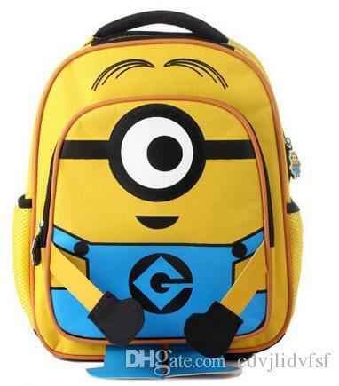 8ef7abab3 Minion Backpack Kids School Bags For Boys Schoolbag Backpacks For Children  Backpacks Mochila Escolar Infantil Dakine Backpack Best Backpack From  Cdvjlidvfsf ...