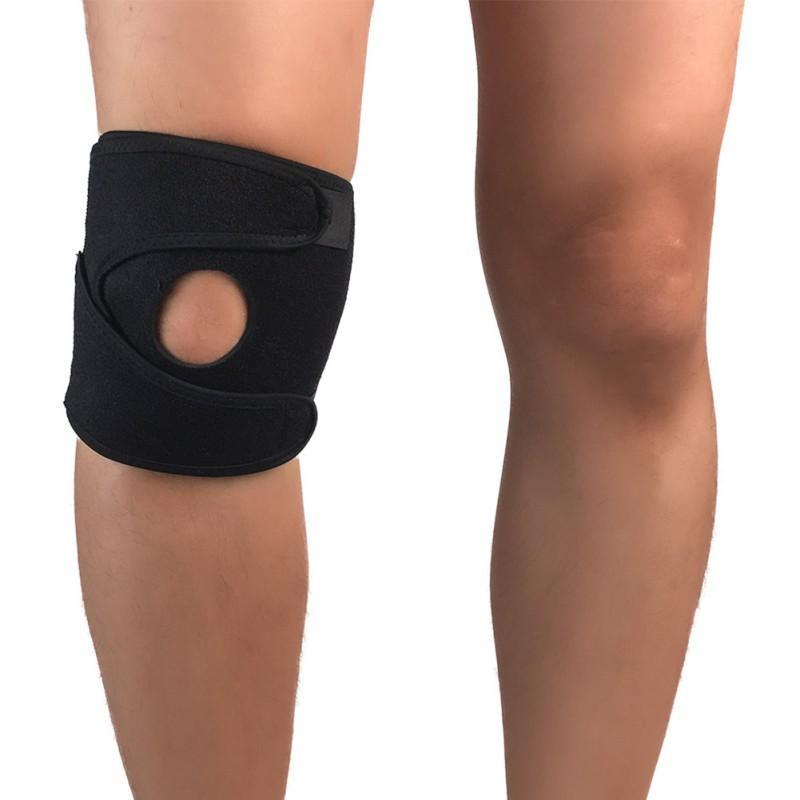 c9c61a226c Adjustable Sports Training Elastic Knee Support Brace Kneepad ...
