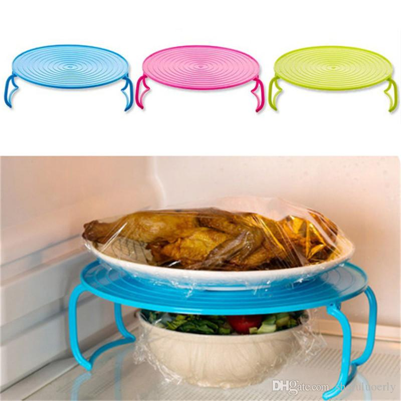 2018 Folding Microwave Oven Bowls Cover Dish Plate Pallet Rack Stand Holder Insulated Double Layer Kitchen Accessories Cocina Gadget From Shefuluoerly ...  sc 1 st  DHgate.com & 2018 Folding Microwave Oven Bowls Cover Dish Plate Pallet Rack Stand ...