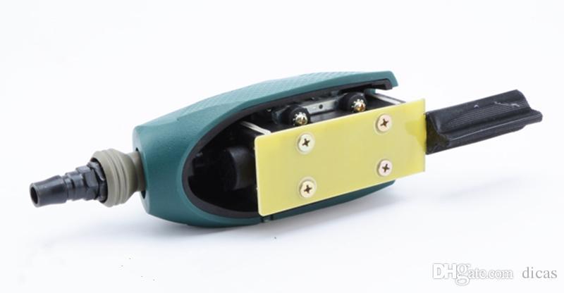 Livraison gratuite air piste outil de papier de verre alternatif profil machine de meulage pneumatique ligne meuleuse vent linéaire drawbench outil