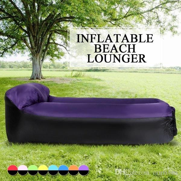 Inflatable Lounger Portable Air Beds Sleeping Sofa Inflatable Lounger Portable Air Beds Sleeping Sofa