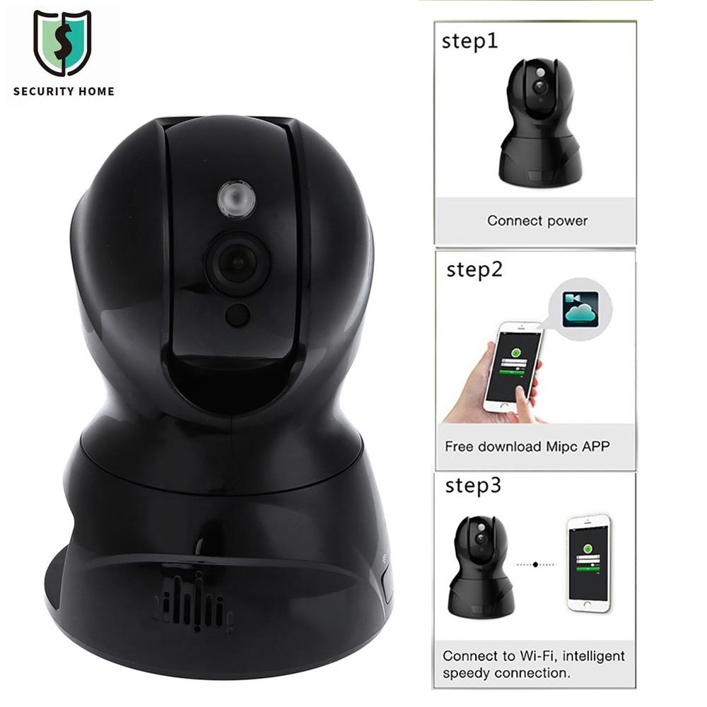 826X 3D Intelligent Noise Reduction Night Vision Remote Control Encryption Bidirectional Language Mini 2.0MP HD Cloud IP Camera