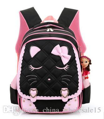AGI-412 8-10 years old Cartoon Kids School Backpack Children School Bags For Kindergarten Girls Boys Nursery Baby Student book bag mo