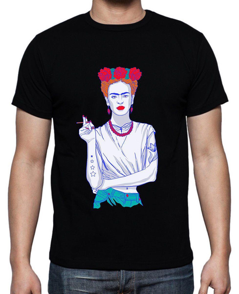 e76988be0d9 Magdalena Carmen Frida Kahlo Calderon Black T Shirt Size S 3XL O Neck T Shirt  Short Sleeve Top Tee Summer 2018 100% Cotton Buy Tshirts The Who T Shirts  From ...