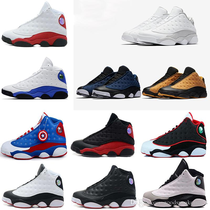 eda289a66424 2018 Free Run 13 13s Man Basketball Shoes High Quality Black White Playoff  Flints 13 23 Trainers Fashion Casual Pk Sport Sneakers Jump Shoes For Men  ...